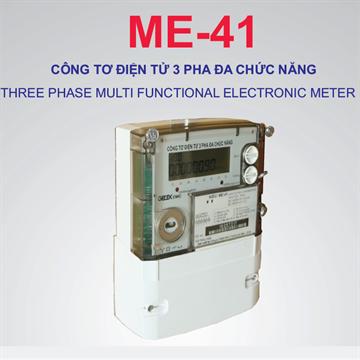Công tơ điện tử 3 pha đa chức năng Gelex EMIC